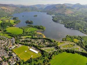 Aerial View of Keswick